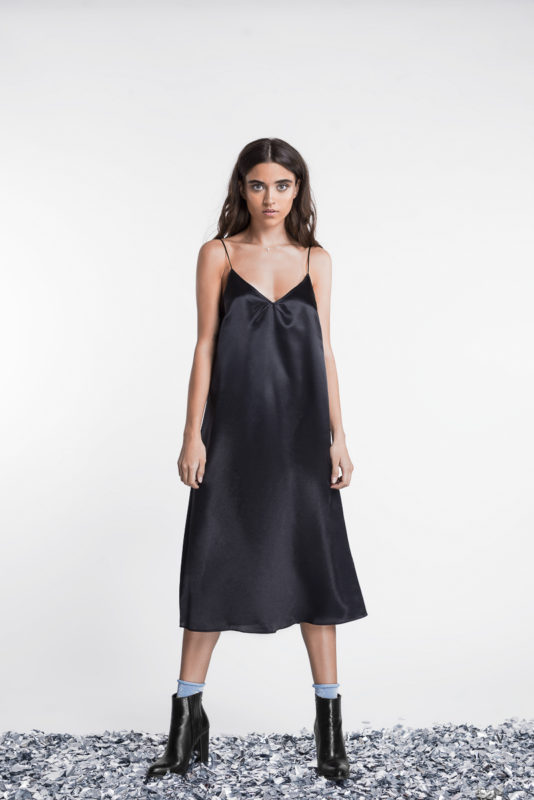 Slip dress by Clear X Matte